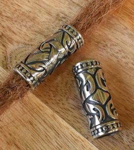 Set of 2 Stainless Steel Beads
