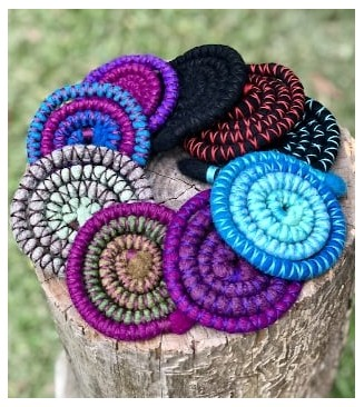Spiralocks dread ties