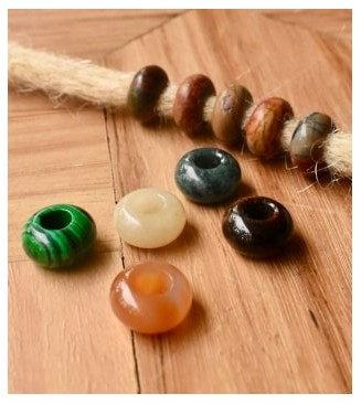 Gemstone Beads for Dreadlocks