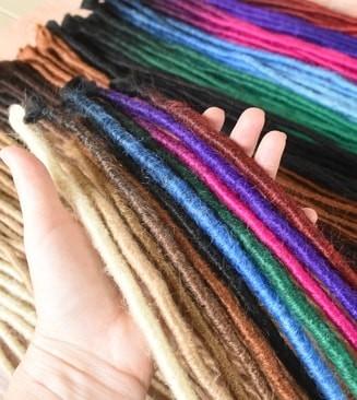 Semi Crocheted Dreadlock Extensions